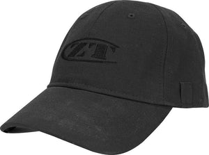 Zero Tolerance Logo Black Cotton Tactical Cap Adjustable Velcro Men's Hat