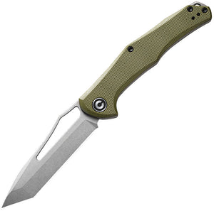 Civivi Fracture Tanto OD Green Slip Joint Pocket Knife 2008a