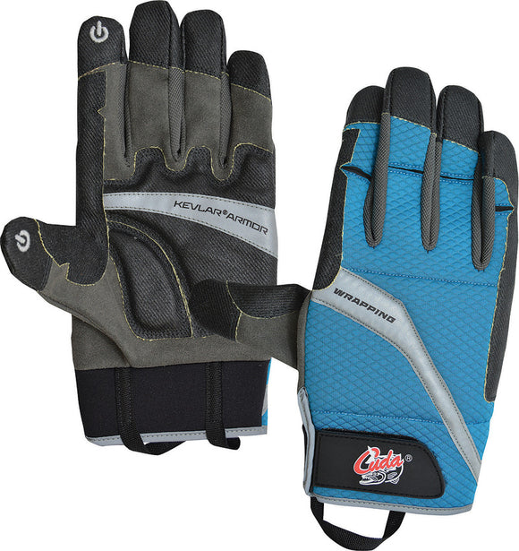 Camillus Black & Blue 2XL Cuda Tools Offshore Fishing Bait Gloves 23025