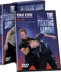 Cold Steel The Fighting Sarong Two Disk DVD Set VDFS