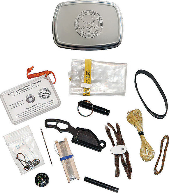 ESEE Mini Survival Outdoor Camping Hiking & Hunting Gear Kit w/Gibson PINCHKIT