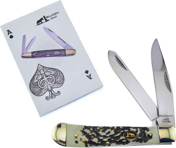 Frost Cutlery 2 piece Trapper & Playing Cards Gift Set 108gsc