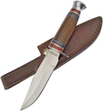 Frost Cutlery Chipaway Bowie Wood Stainless Fixed Knife CW1000DW