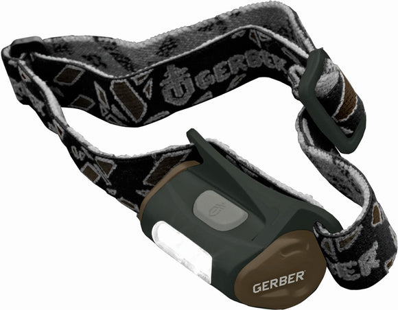 Gerber Myth Hands Free Light Water Resistant White LED Headlamp 1259