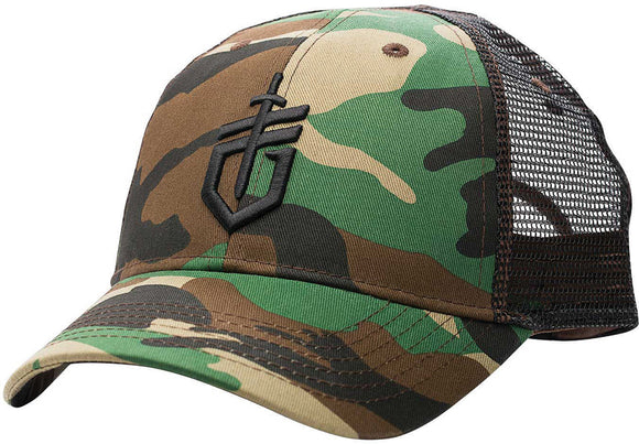 Gerber Logo Ball Cap Camo One Size Fits Most 30001282