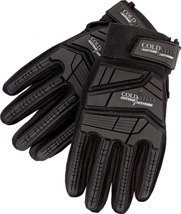 Cold Steel Anytime Anywhere Tactical Black & Gray Gloves