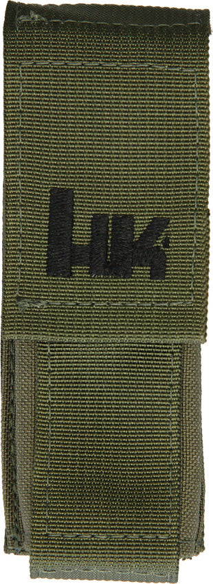 Heckler & Koch Hk OD Green Large Molle Velcro Pouch Sheath 55071