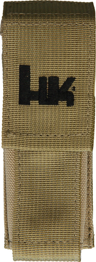 Heckler & Koch Hk Tan Large Molle Velcro Pouch Sheath 55073