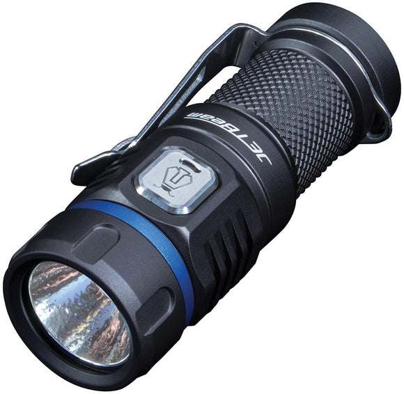 JETBeam E20R EDC Black Aluminum Body SST40 LED 185m Beam 3