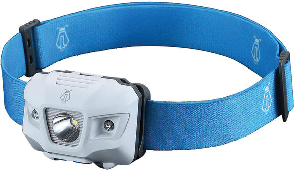 JETBeam HP35 Headlamp Flashlight Strobe Water Resistant w/ Blue Nylon Strap HP35