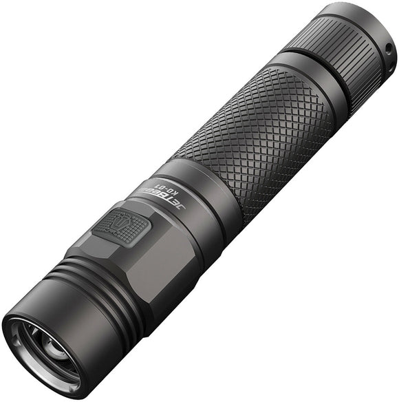 JETBeam KO-01 CREE XPL LED Rechargeable Gray Aluminum Body Flashlight KO01
