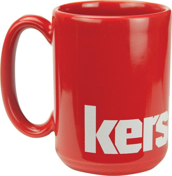 Kershaw White Logo Red Collectible Coffee Drink Mug