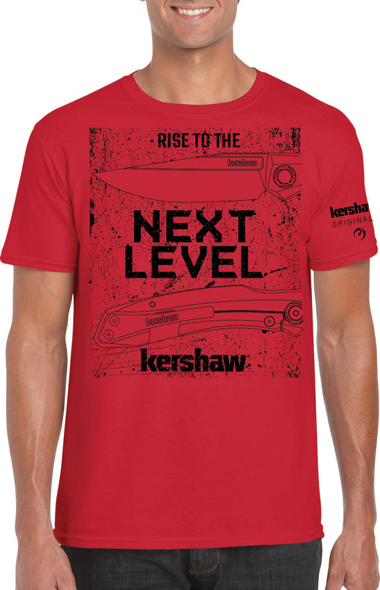 Kershaw Kershaw T-Shirt Red Next Level Small S SHIRTNLS