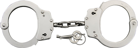 Scorpion Handcuffs Silver Nickel Plated Steel 220041SL