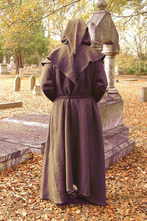 Windlass Men's Monk Brown Robe Costume Renaissance Outfit One Size 100298