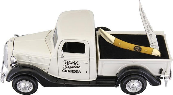 Frost 1937 Ford Greatest Grandpa Father's Day Gift with Peanut Pocket Knife