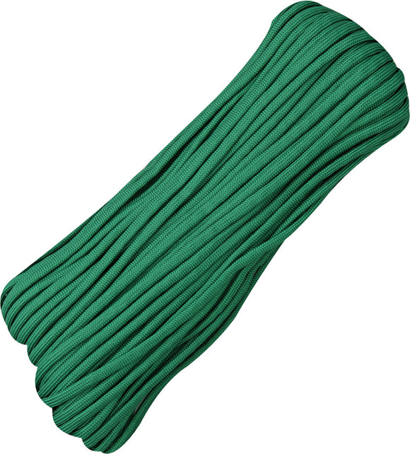 Marbles Parachute Cord Green 100 ft  7 strand 550lbs 016h