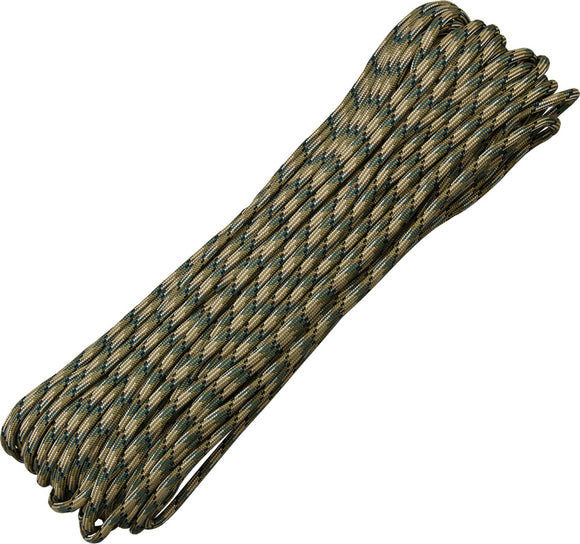 Marbles Parachute Cord Multicam 100 ft 7 strand 550lbs 1033h