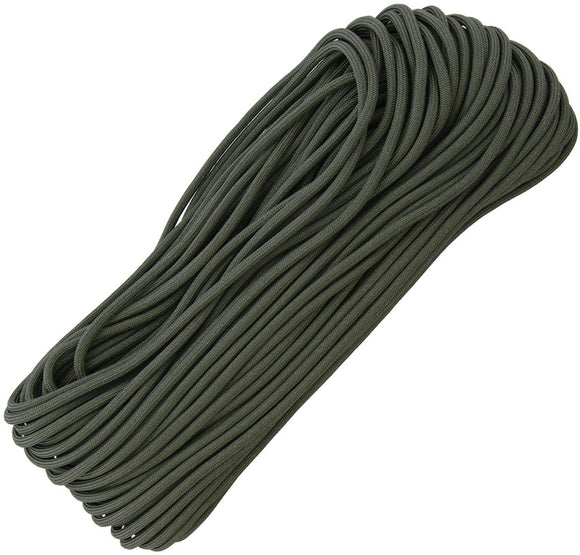 Marbles Military Spec Paracord Foliage 100 ft 7 strand 550lbs 1167h