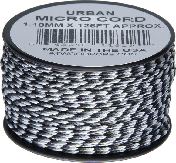 Atwood Rope MFG Micro Cord 125ft Urban