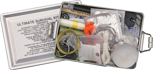 Bushcraft Ultimate Survival Kit Camping & Hiking Multi-Tools Made UK