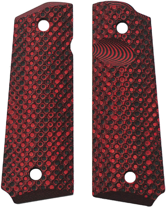 Savage Grips 1911 Grips Red/Black 8002RD