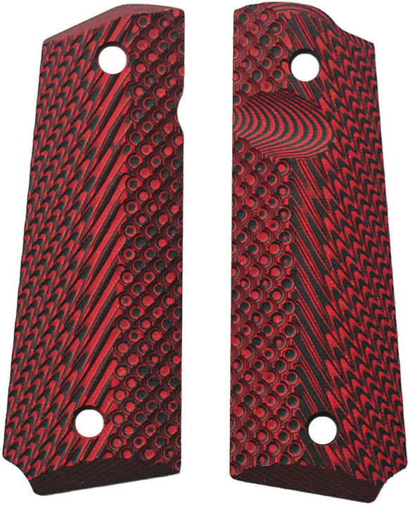 Savage Grips 1911 Grips Red/Black 8003RD