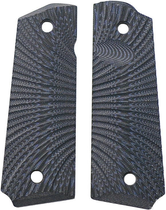 Savage Grips 1911 Grips Blue/Black 8004BL