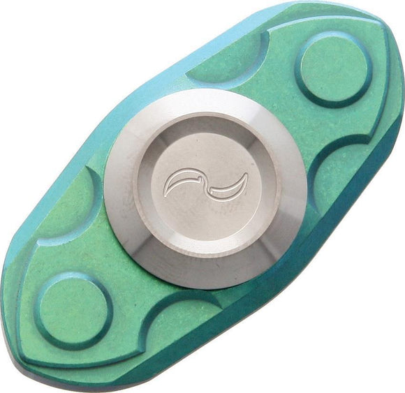 Liong Mah Design Titanium Green Stainless Spinner Ceramic Ball Bearing