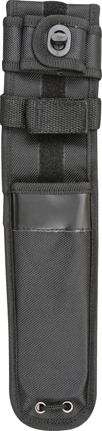 Carry All Fixed Blade Nylon Closure Belt Sheath Black up to 7 1/4