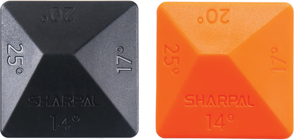 Sharpal 2pc Angle Pyramid Knife Blade Sharpening Guide Set 196N
