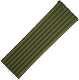Snugpak Travel Baseball Ops Air Mat OD Green with Built in Foot Pump 91900OD