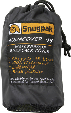 Snugpak Aquacover 45L Waterproof Olive Green Lightweight Rucksack Cover 92142
