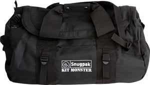 Snugpak Kit Monster Black 500D Heavy Duty Nylon 120L Rucksack Duffel Bag 92178