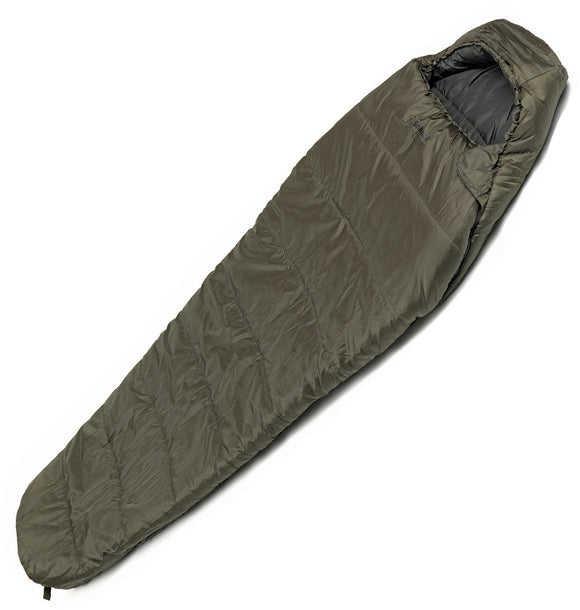 Snugpak Basecamp Ops Sleeper Lite Green Polyester 63oz Zip Up Sleeping Bag 98500
