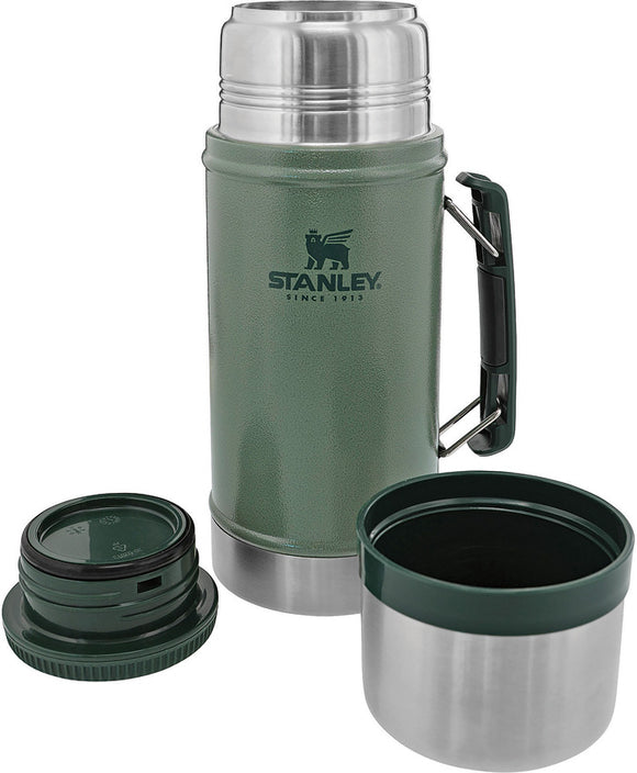 Stanley Green Legendary Classic Dishwasher Safe Stainless Food Jar 07937G