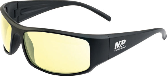 Smith & Wesson Black/Amber Thunderbolt Anti-Fog Shooting Glasses MP110167