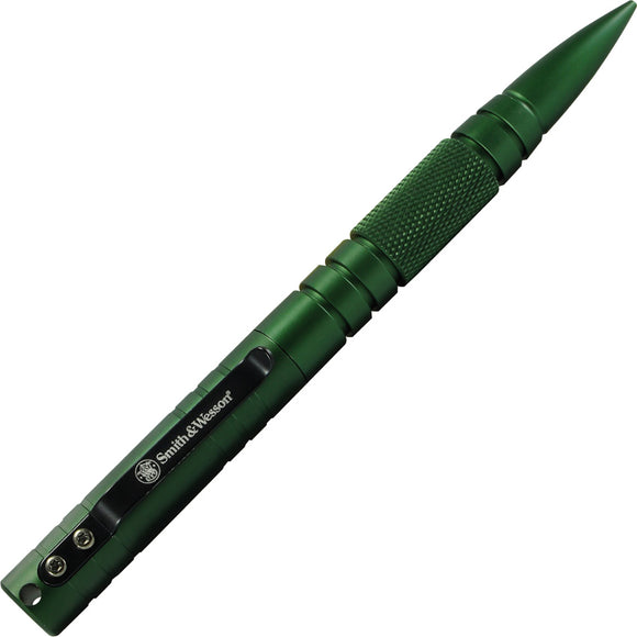 Smith & Wesson Olive Drab T6061 Aluminum Military & Police Tactical Pen PENMPOD