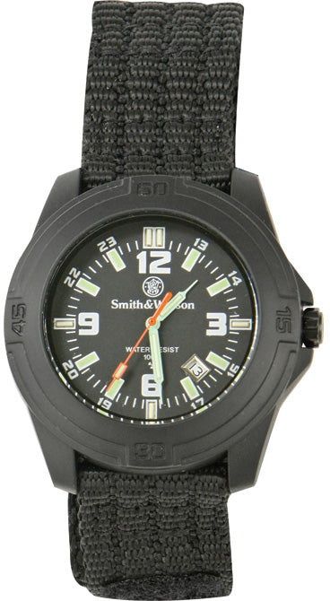 Smith & Wesson Black Soldier Water Resistant Watch W12TN
