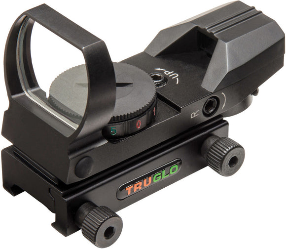 TRUGLO Multi-Reticle Dual Color Sight 8360b