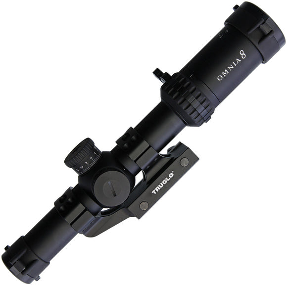 TRUGLO Omnia 8 1-8x24mm Scope 8518tlr