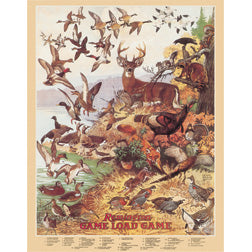 Remington Game Load Game Wildlife Hunting Man Cave Metal Tin Sign 1139