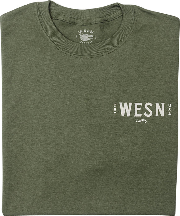 Wesn Goods OD Green Extra-Large T-Shirt N08