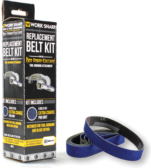 Work Sharp Ken Onion Tool Grinding Belt Extra Grit PK of 5 03892