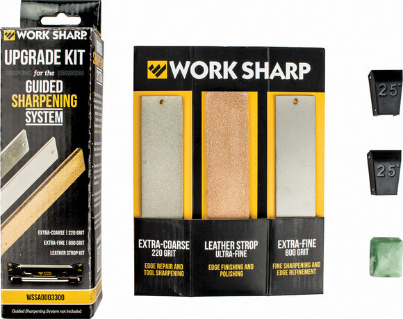 Work Sharp Guided System Upgrade Sharpening Kit 03915