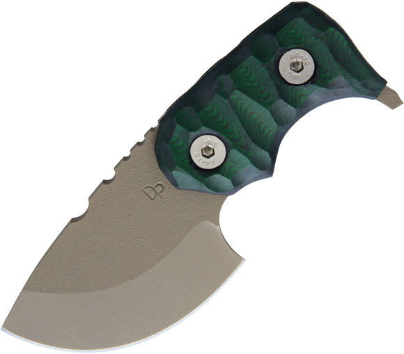 Wander Tactical Tryceratops Green Micarta Handle D2 Steel Fixed Blade Knife 04GE