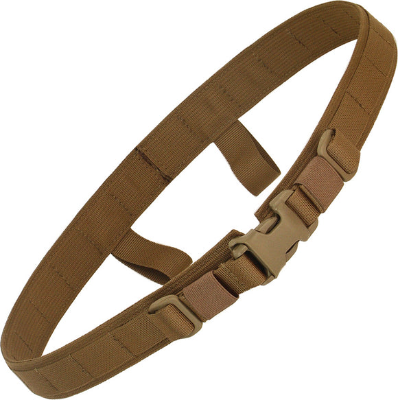 Wander Tactical Coyote Brown Tan MOLLE Compatiable Carry Gear Tactical Belt 15