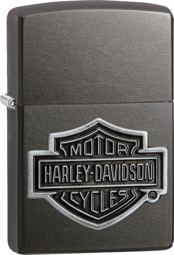 Zippo Harley Davidson Motorcycles Logo Street Chrome Windproof Lighter 08276