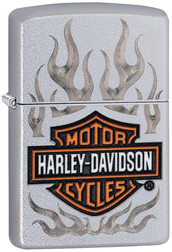 Zippo Harley Davidson Motorcycles Flame Logo Windproof Lighter 09740