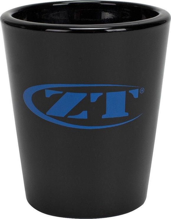 Zero Tolerance Blue Logo Black 1.5 fl. oz. Collectable Shot Glass